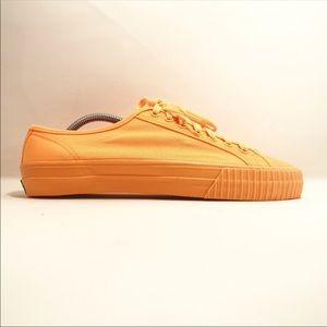 939ea8d2b0eb2b Shoes - Vintage PF flyer yellow orange low top shoes